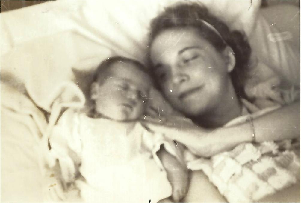 Baby Sue Ellen and Josephine, 1940