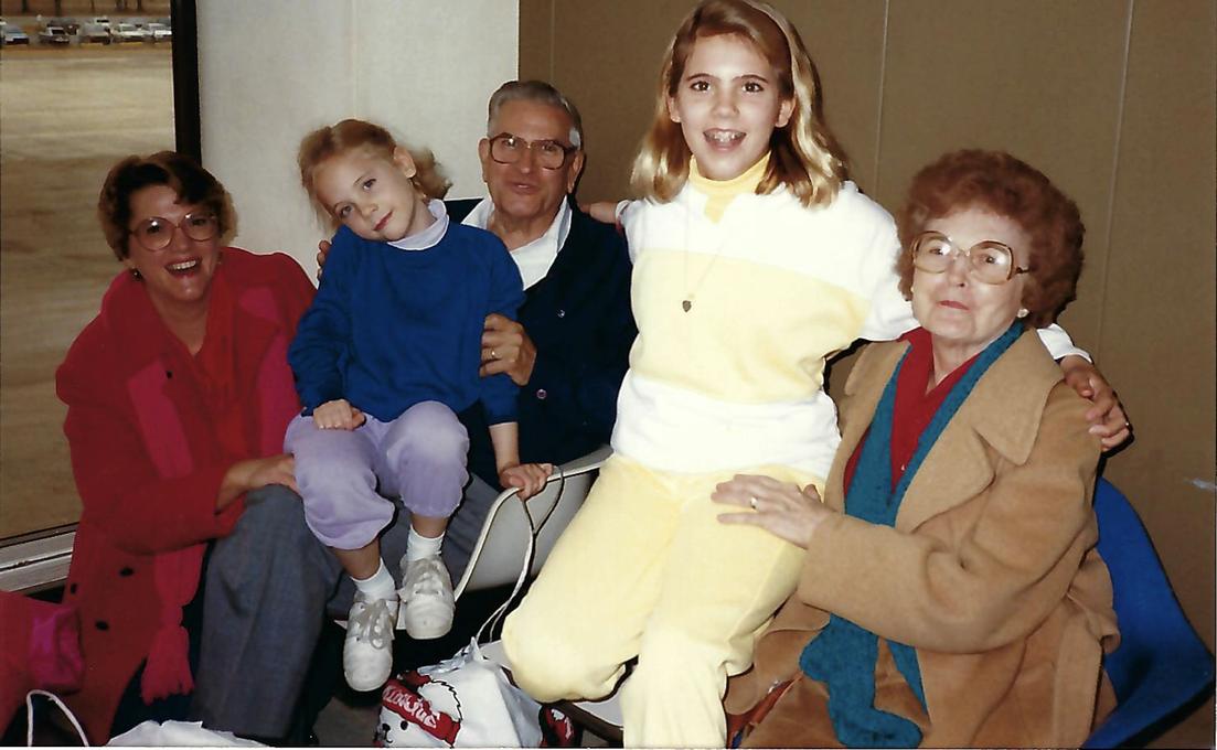 Sue Ellen, Erin, Fred, Mary Jo, and Josephine