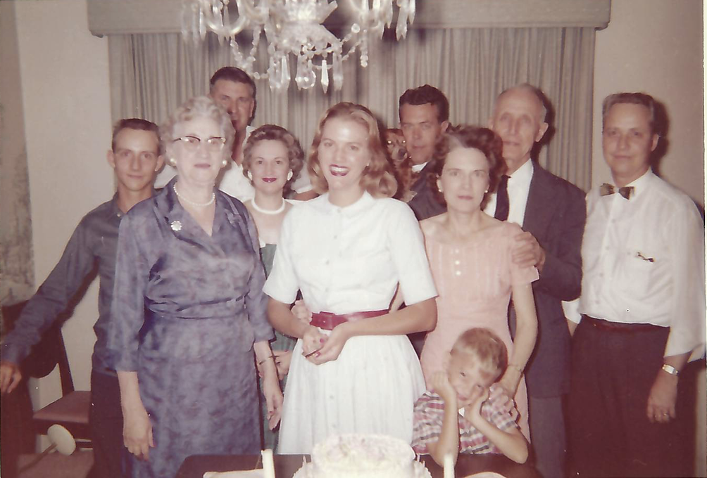 Sue Ellen with extended family