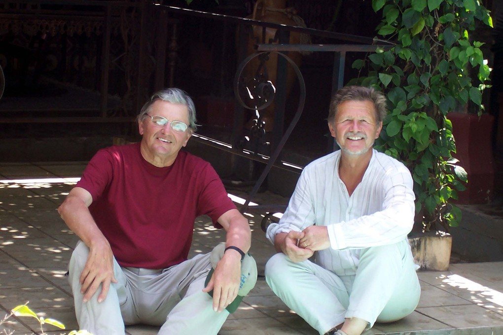 Ed and Juergen on their travels through Central America
