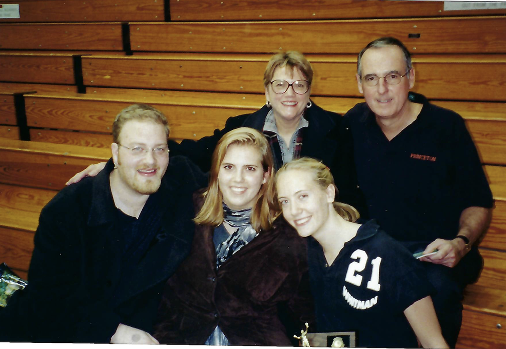 Dave, Mary Jo, Sue Ellen, Marc, and Erin, 1998