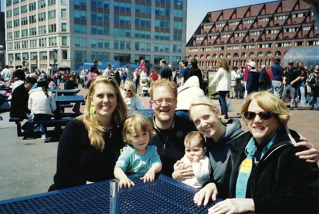 May Jo, Will, Dave, Carina, Erin, and Sue Ellen